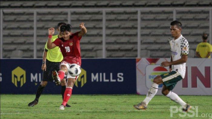 Kadek Agung gelang Timnas Indonesia U-23 asal Bali United