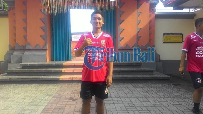 Di Balik Motivasi Kadek Agung Widnyana Tembus Tim Utama Bali United