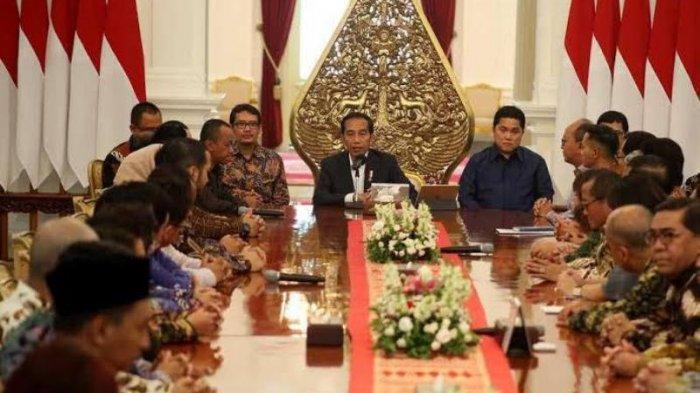 Kadin Indonesia dan HIPMI Diterima Presiden Joko Widodo dan Erick Thohir