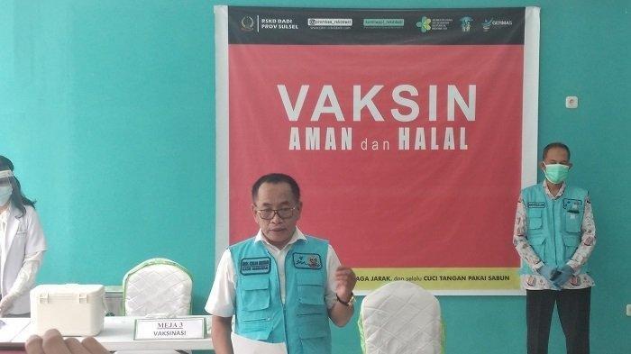Kadis Kesehatan Sulsel Muh Ichsan Mustari.