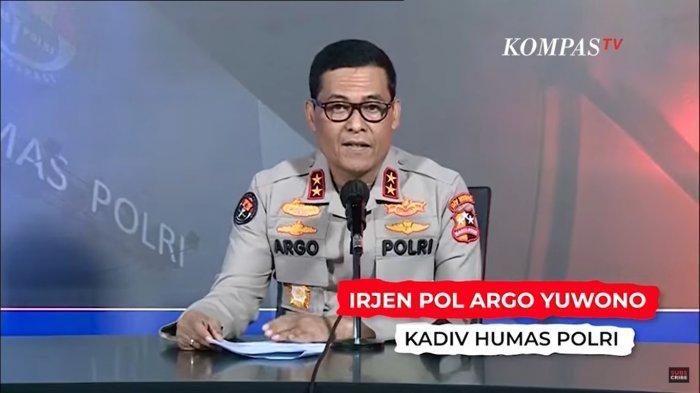 Kadiv Humas Mabes Polri Irjen Pol Argo Yuwono fff