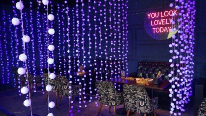 Rekomendasi Kafe di Tangerang Asyik Buat Nongkrong Santai, Nuansa Full LED