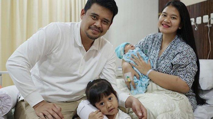 Putra Kahiyang Ayu dan Bobby Nasution lahir di RS YPK Mandiri, Jakarta, pada Senin (3/8/2020).