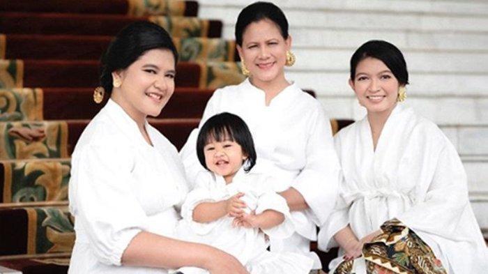 Foto-foto Iriana Jokowi, Kahiyang Ayu dan Selvi Ananda Pemotretan Bersama, Cantik dan Elegan
