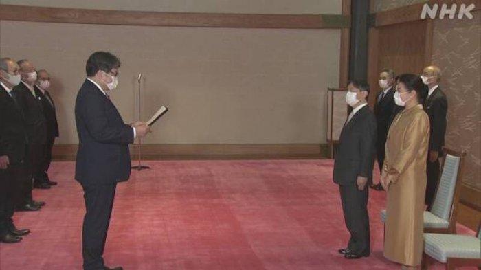 Protokol Kesehatan Ketat Saat Kaisar Jepang Ucapkan Selamat Kepada Pemenang Sains dan Budaya