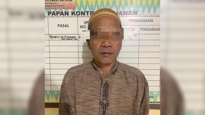 DPO kasus pencabulan di Papua, Jamaluddin (59) ditangkap di Kabupaten Wajo, Sulawesi Selatan.