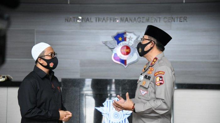 Hari Lalu Lintas Bhayangkara ke-65, Ustaz Yusuf Mansur Apresiasi Polantas