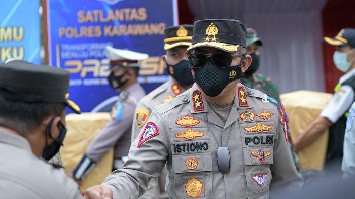 Korlantas Polri Sosialisasikan Peniadaan Mudik Lewat Operasi Keselamatan