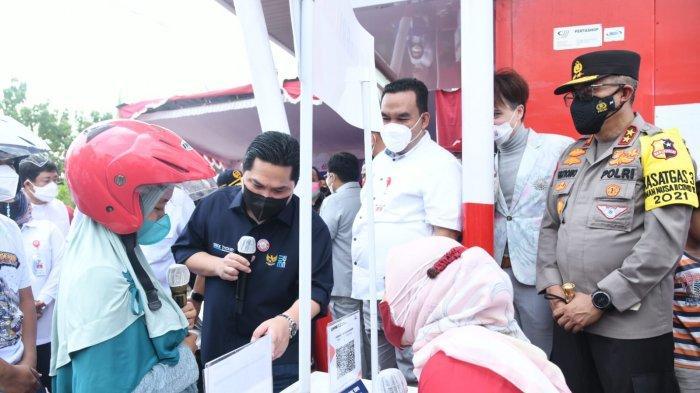 Kakorlantas Dampingi 3 Menteri Tinjau Vaksinasi Massal di Jateng dan Jatim