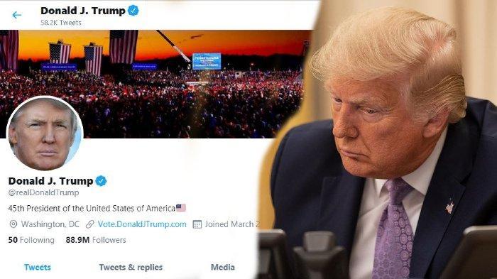Duh, 130 Ribu Pengikut Trump di Twitter Hilang sejak Kalah Pemilu, Pindah ke Joe Biden?