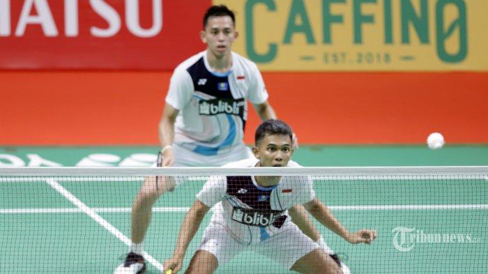 Hasil Piala Sudirman, Leg 1 - Fajar/Rian Kalahkan Ganda Kanada, Indonesia Unggul 1-0