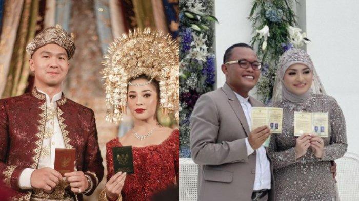 KALEIDOSKOP 2020 - Artis yang Menikah di Tengah Pandemi Covid-19: Dinda Hauw, Nikita Willy, Sule