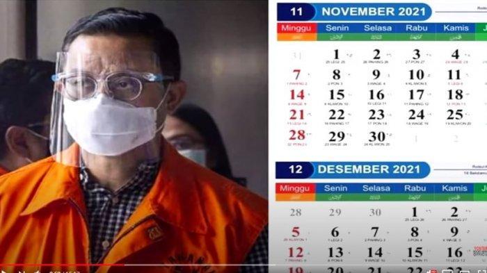 Kalender 2021 Foto Pejabat Tertangkap Korupsi