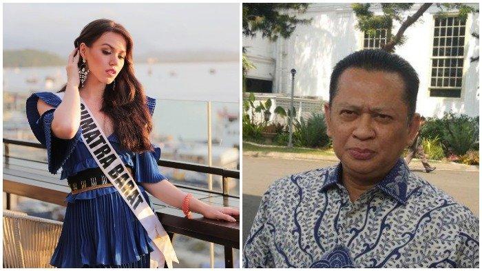 Finalis Puteri Indonesia dari Sumatera Barat, Kalista Iskandar tak hapal Pancasila saat ditanya oleh Bambang Soesatyo di malam Grand Final Puteri Indonesia 2020, Jumat (6/3/2020) malam ini.