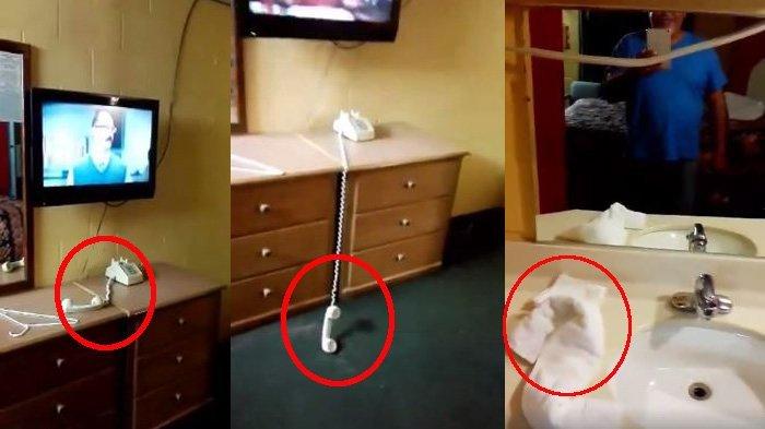 Menginap di Hotel, Tamu Rekam Kejadian Aneh yang Bikin Merinding