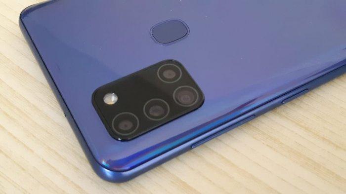 Kamera belakang Samsung Galaxy A21s.