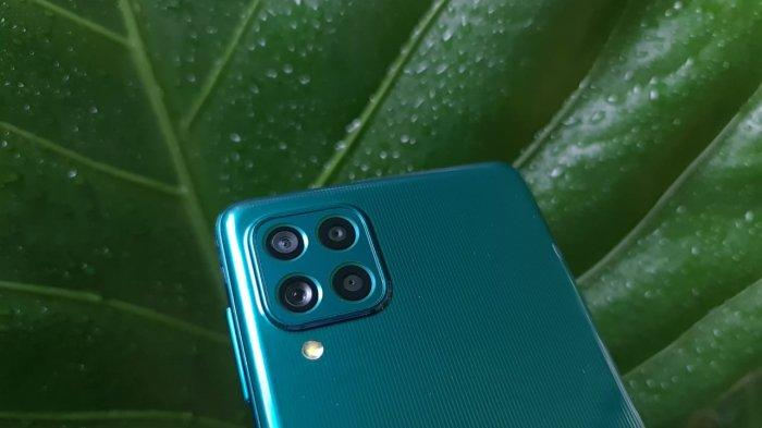 Kamera belakang Samsung Galaxy M62