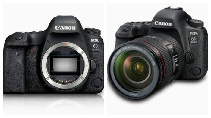 Harga dan Spesifikasi Kamera Canon EOS 6D Mark II, Teknologi Canggih Dijual Mulai Rp 28,5 Juta