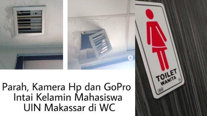 Terungkap Motif Mahasiswa UIN Alauddin Makassar Pasang Kamera di Toilet Wanita