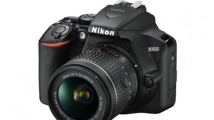 DSLR Nikon D3500 Jadi Kamera Teringan, Dilego Mulai Rp 7 Jutaan