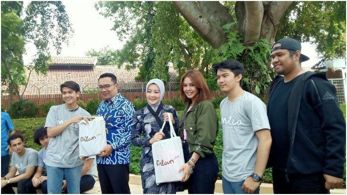 Didatangi Vanesha Prescilla dan Iqbaal Ramadhan, Ridwan Kamil Janji Nonton Milea: Suara dari Dilan