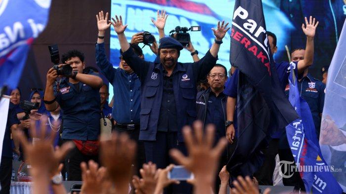 Partai NasDem Ucapkan Terima Kasih Dipercaya Dapat 59 Kursi DPR RI Hasil Pileg 2019