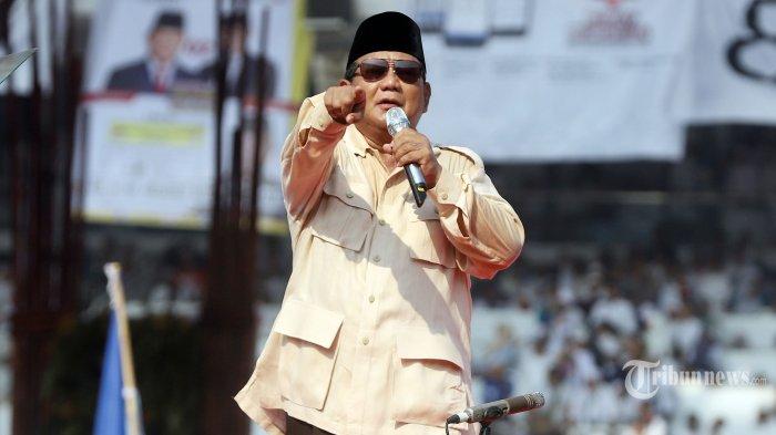 Prabowo Singgung Dana Pensiun untuk Koruptor saat Kampanye Akbar di GBK
