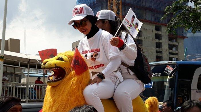 Sisingaan hingga Pawai Mobil Hias Semarakkan Parade Parpol Koalisi Indonesia Kerja Menuju GBK