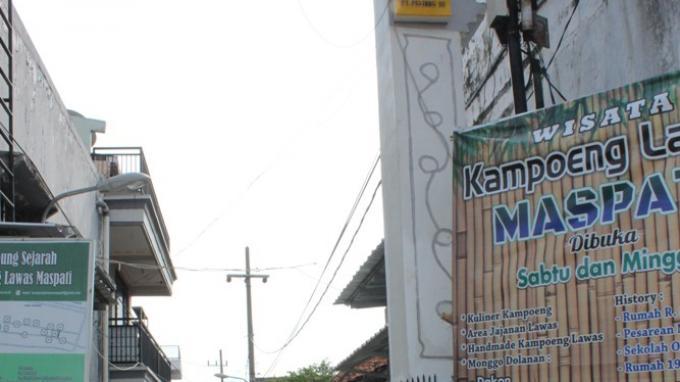 Yuk, Wisata Sejarah di Kampung Maspati Surabaya, Kampung Lawas, Saksi Perjuangan Melawan Penjajah