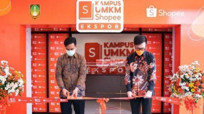 Kembangkan UMKM Surakarta, Shopee & Gibran Resmikan Kampus UMKM Shopee Ekspor