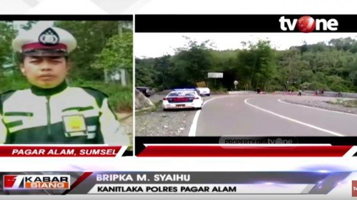 Kasus Bus Sriwijaya Masuk Jurang, Kanit Laka Pagar Alam Ungkap 4 Faktor Penyebab Kecelakaan