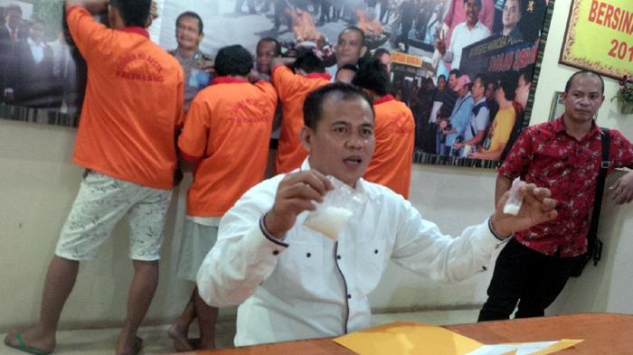 Sabu-sabu Asal Medan Dikirim ke Palembang Melalui Bus AKAP