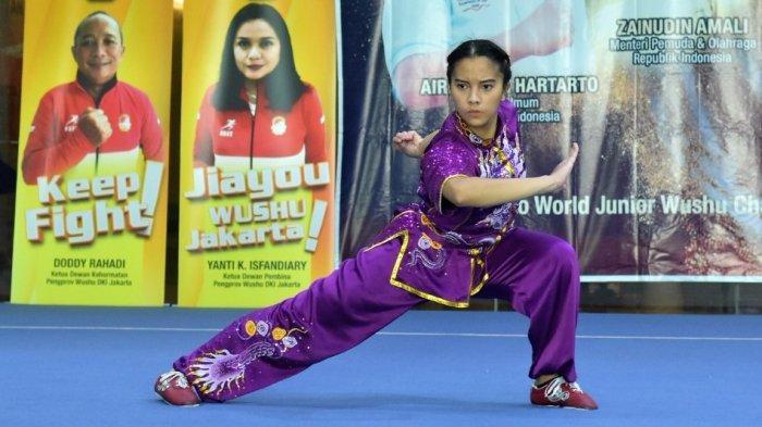 Kaniya Rizki Noviarni bilang Wushu Itu Gerakannya Keren