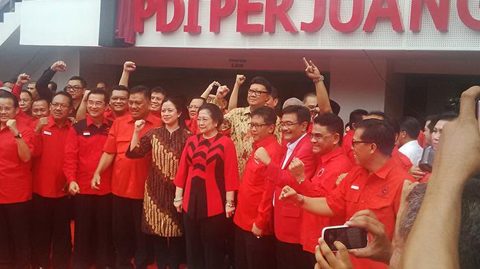 Megawati Resmikan Kantor DPP PDI Perjuangan
