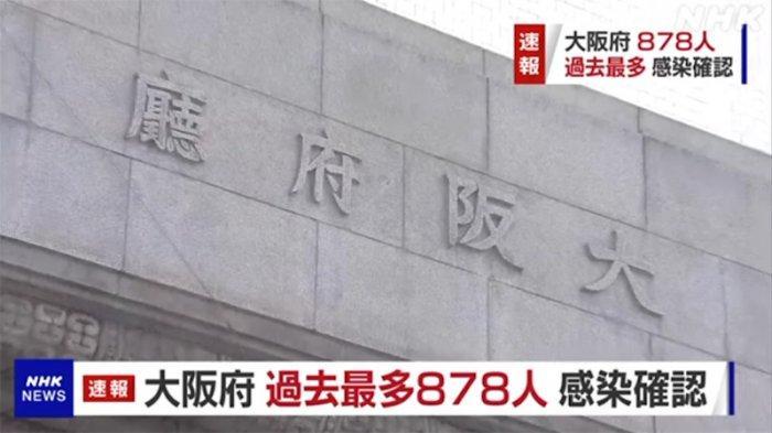 Osaka Jepang Paling Parah Terinfeksi Corona Terbesar Rabu Ini