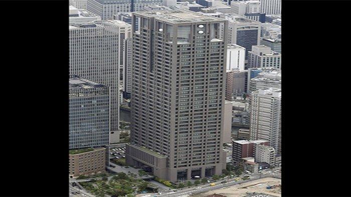 Kantor Pusat Kansai Electric Co.Ltd (Kepco) di Osaka Jepang.