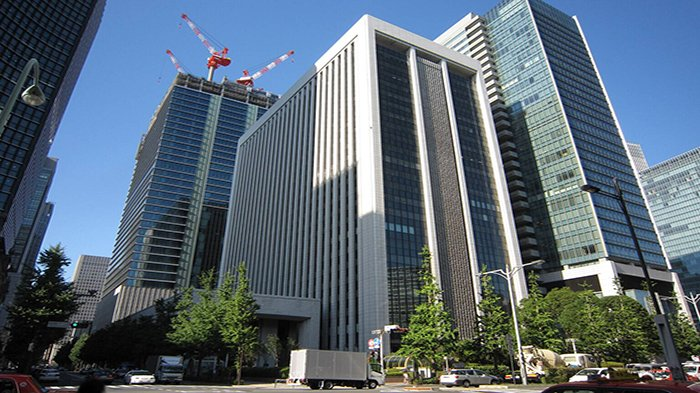 Kantor Pusat Mitsubishi Electric di Tokyo, Jepang.
