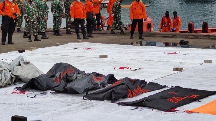 Hari Ini Basarnas Kumpulkan 17 Kantong Jenazah Berisi Body Part Korban Sriwijaya Air SJ-182