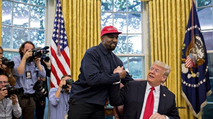 Kanye West dan Trump.