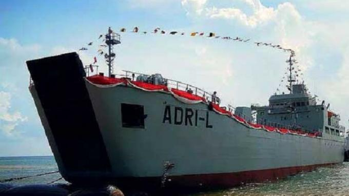Kapal ADRI 50 Bawa Satgas Penanggulangan Bencana Banjir Kalsel Kembali ke Jakarta