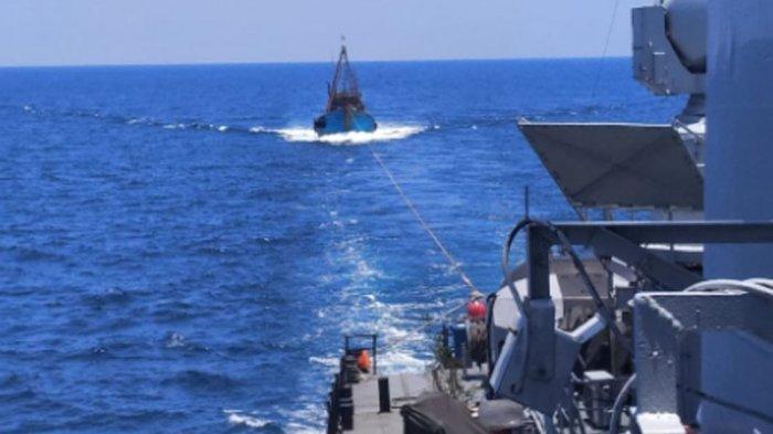 Duh! Sepekan KKP Lumpuhkan 19 Kapal Illegal Fishing