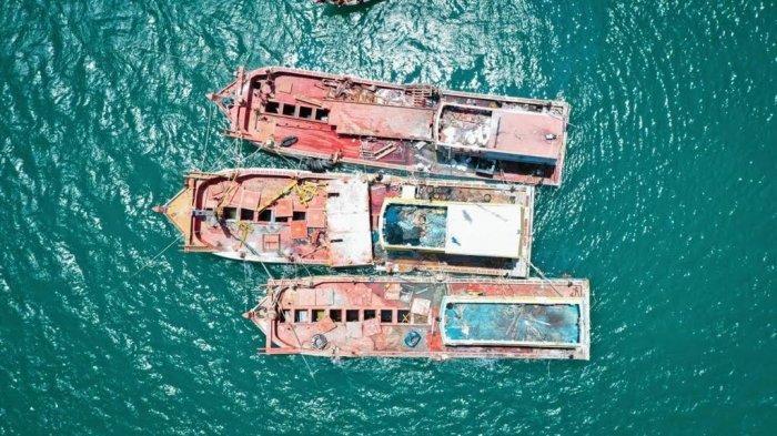 Kapal Ikan Asing Sitaan Sebagian Akan Dihibahkan ke Kampus, Sisanya Ditenggelamkan