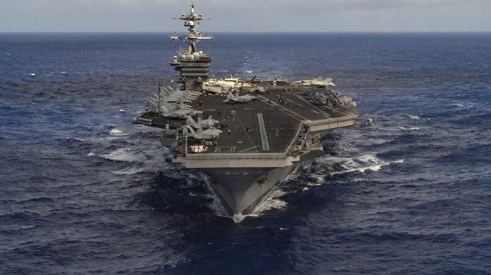 Pascapembunuhan Ilmuwan Iran, Kapal Induk Nimitz Bergerak ke Teluk Persia