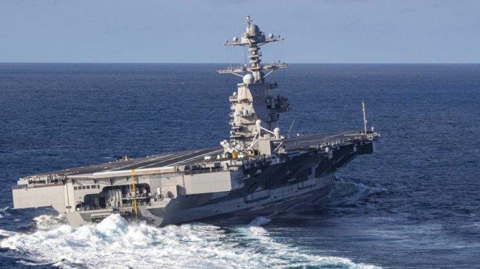 Amerika-China Kian Memanas: 60 Persen Kekuatan Tempur Angkatan Laut AS Telah Berada di Asia Pasifik