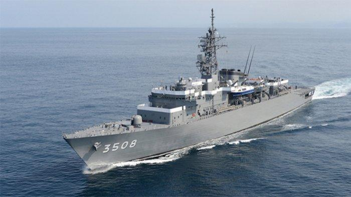 Kapal AL Jepang Selamatkan 3 Anak Buah Kapal Pengangkut Kopra Indonesia di Maluku
