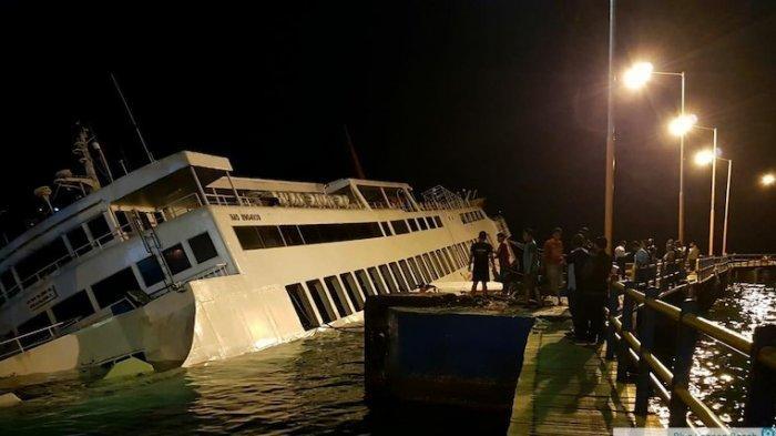 Kapal Penumpang Dharma Rucitra Kandas di Padang Bai Bali, Tidak Ada Korban Jiwa