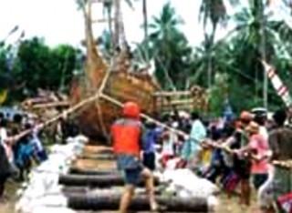 Kapal  The Spirit of Majapahit  Mulai Jelajahi Asia