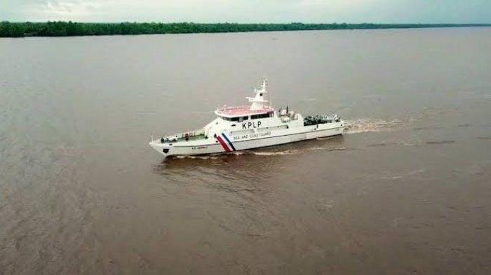 Kapal Patroli DIkirim ke Lokasi Tabrakan Kapal MV Habco Pioneer dan KM Barokah Jaya