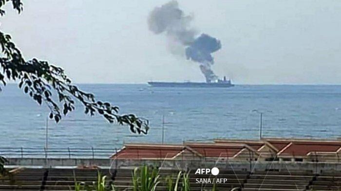 Kapal Tanker Minyak di Lepas Pantai Suriah Terkena Serangan Pesawat Tak Berawak