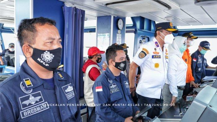 Kapal Patroli KPLP KN. Trisula Laporkan Penemuan Hasil SAR Di Kepulauan Seribu